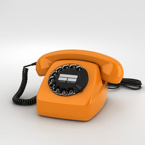 telephone fetap 611 3D model