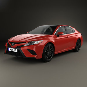 3D toyota camry xse model