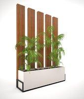 ralistes arbustes bois 3D model