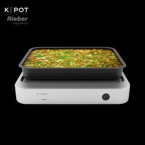 3D k-pot warmhalten
