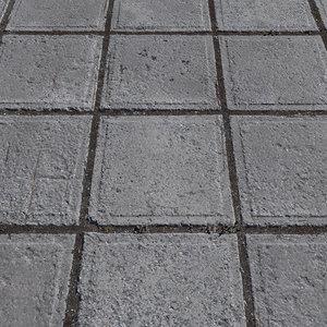 3D ultra realistic tiles floor