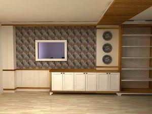 office decor 3D model