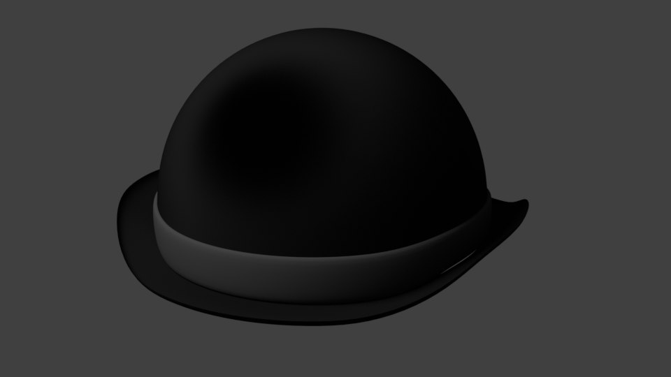 3D model hat coco