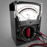 3D triplett 630-pl analog multimeter
