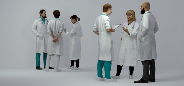 3D scanned people architectural doctors