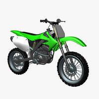 3D standar motocross bike