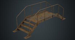 stair 2d 3D model