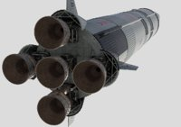 saturn-5 rocket