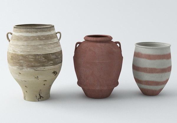 urn vase 3ds