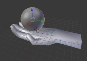 hand rasengan 3D