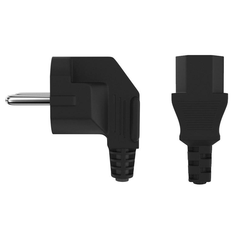 3D power plug iec
