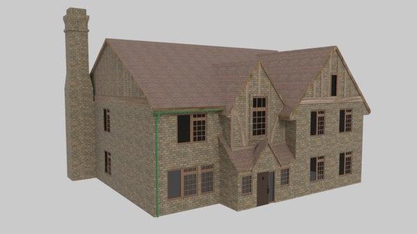 house mansion 3D model