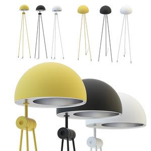 lightyears radon nigra floor lamp model