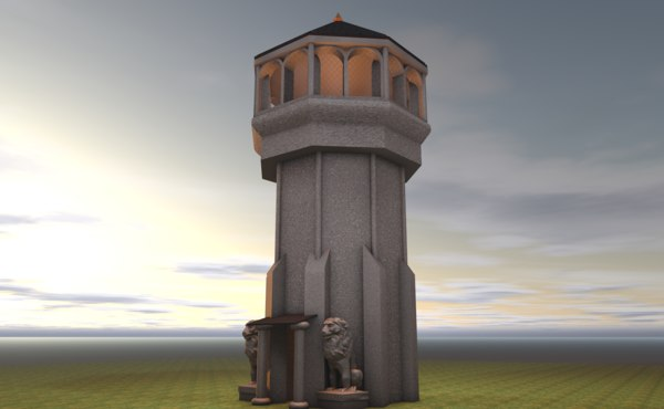 age empires tower model