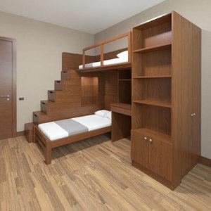 child bed model