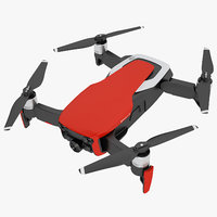 3D dji mavic air model