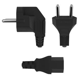 3D power plug f iec