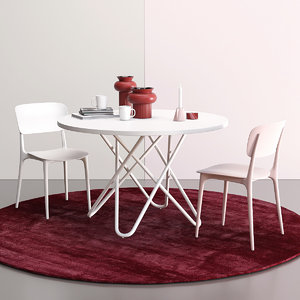 3D calligaris liberty plastic chair