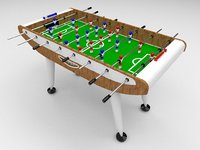 fussball 3D model