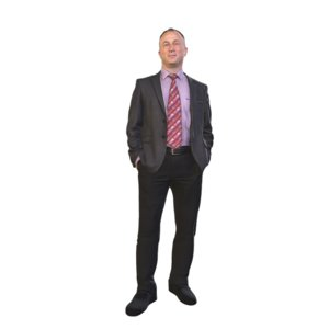 male standing 3D model