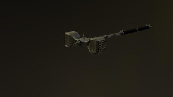 3D medieval war-hammer model