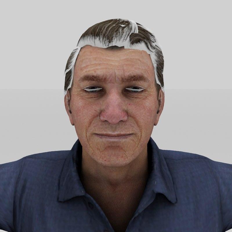 old men 3D