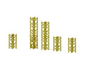 potain 428 tower crane 3D model