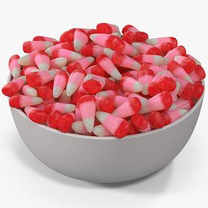 valentine corn 4 3D