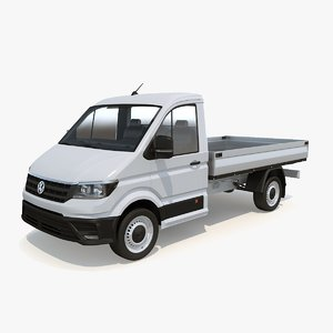 crafter pickup short cab 3D