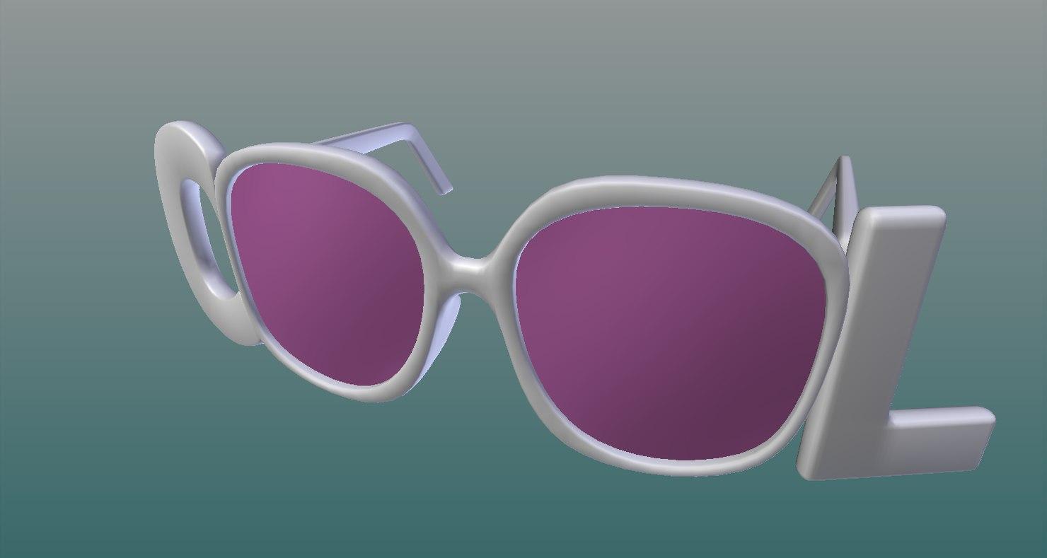 sunglasse 3D