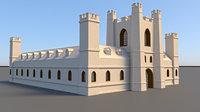 3D old court