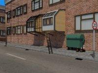 scene homeless pods model