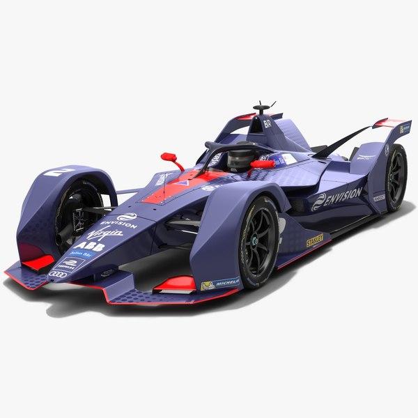 3D model gen2 envision virgin racing