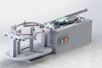3D badminton racquet threading device