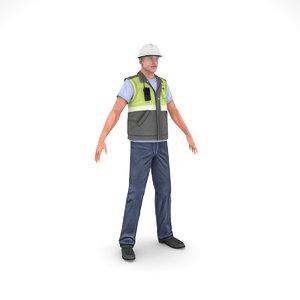 civil engineer - 1 3D model