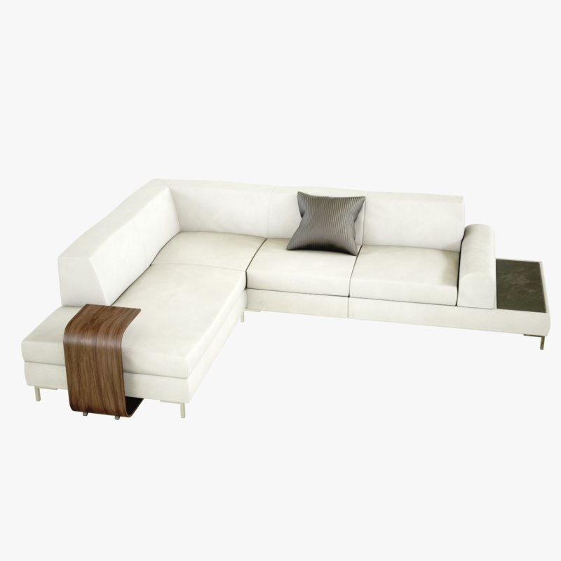 lightwave sofa milo 3D model