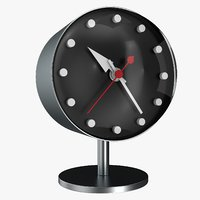 office clock 3D model