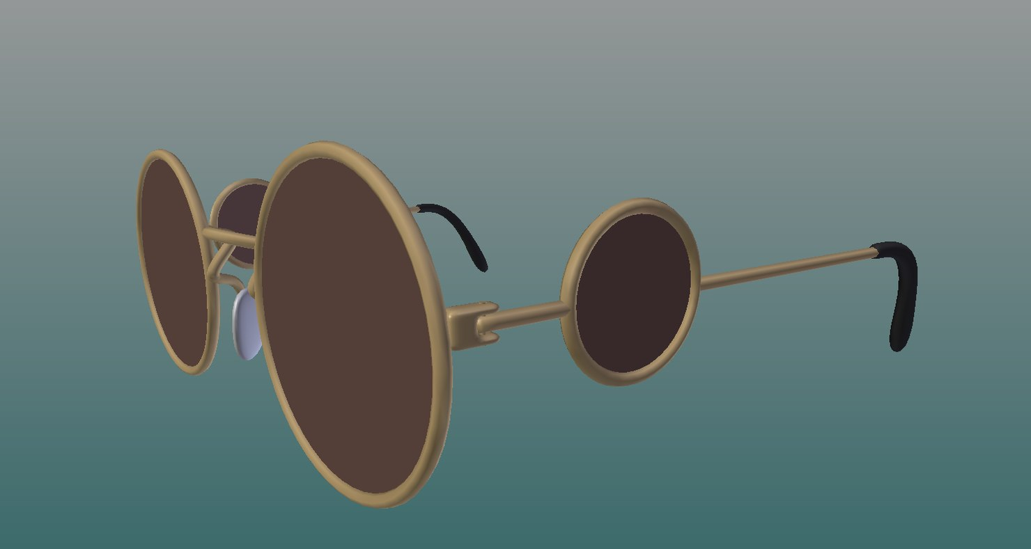 3D sunglasse