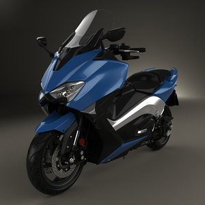 3D model yamaha tmax t