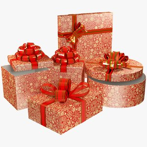 3D set gifts model