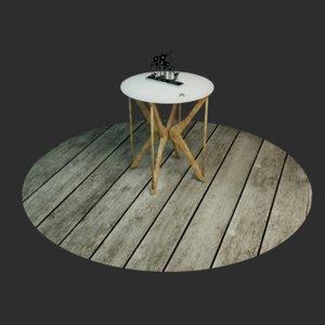 table hangers 3D model