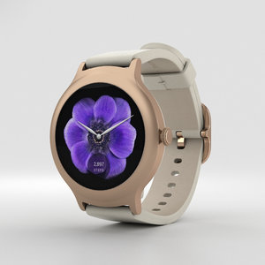 lg style watch 3D