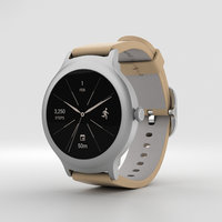 3D lg style watch