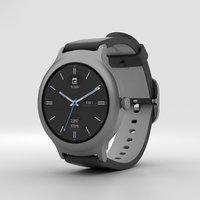 3D lg style watch model