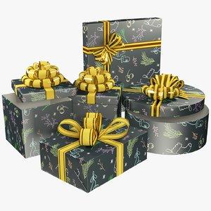 3D model set gifts
