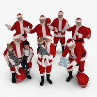 Santa Collection x7