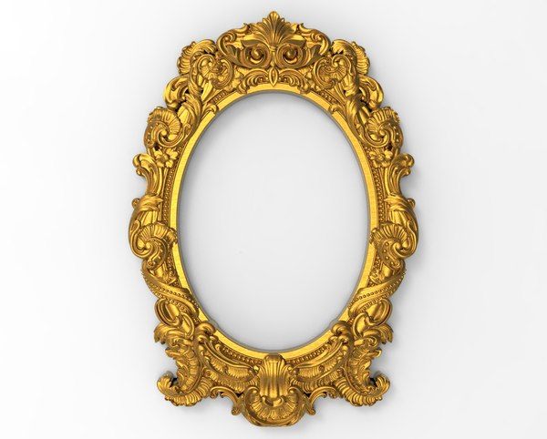 frame carving baroque model