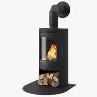 Fireplace Contura 550