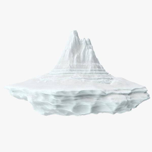 3D iceberg 8