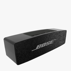 3D wireless bluetooth speaker model